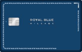 ROYAL BLUE MILEAGE (SKYPASS) 카드 이미지