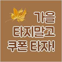 [상품]가을타지말고 쿠폰타자!