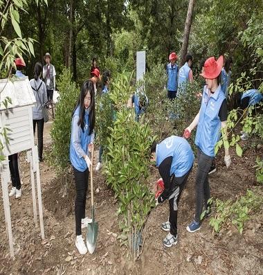 환경보호 행사사진