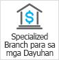 Specialized Branch para sa mga Dayuhan