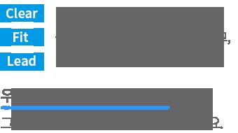 처음부터 고객이 참여하여 고객의 눈높이와 언어로 모든걸 바꾼 새로운 우리WON뱅킹을 만나보세요. Clear:방해되는 모든 것을 비워내고 Fit:금융생활에 필요한 것들로 맞춰주고 Lead:더나은 금융여정으로 안내하는 우리WON뱅킹만의 3대 원칙, 그 외에 모든 것은 다 버렸습니다.
