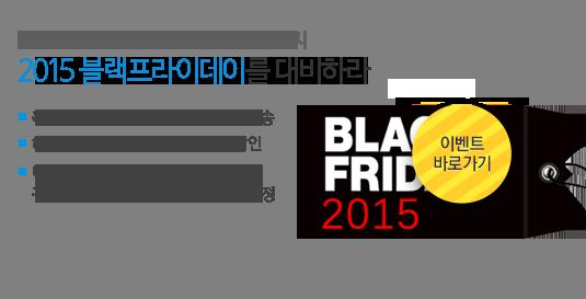 2015 블랙 프라이데이를 대비하라!
