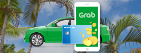 Grab 서비스 이용하고 캐시백도 Grab 하자! Grab 서비스 최대 10% 캐시백 동남아 여행 필수 앱! Grab 이용할땐? 우리카드 이용하고 최대 10% 캐시백 받자!