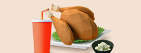 # 언택트로 즐기는 집콕! # 치킨이 쏟아진닭!
